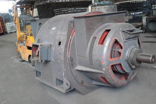 SCHORCH 740 KW 750 RPM AC SLIPRING